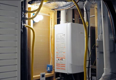 cottage use tankless water heater